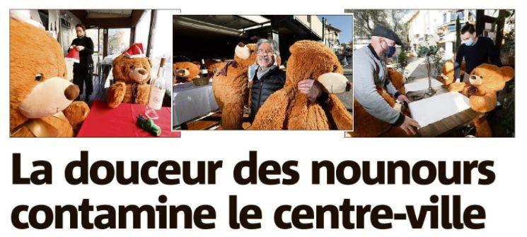 La Douceur des Nounours de Sainte Maxime