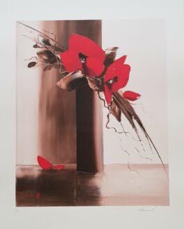 BOUQUET MODERNE, Lithographie