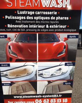 Polish carrosserie et rénovation des optiques de phares