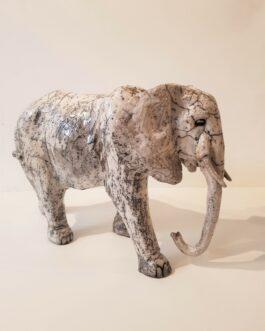 L'ELEPHANT GRIS, oeuvre unique