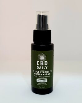 Spray actif force triple – CBD Daily