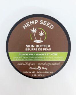 Beurre de pot aux graines de chanvre – Goyave et mûre